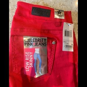 Celebrity Pink Jeans Low Rise